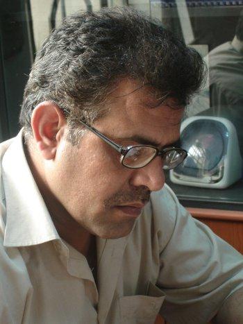 Iraqi poet Naseer Flaiih Hassan