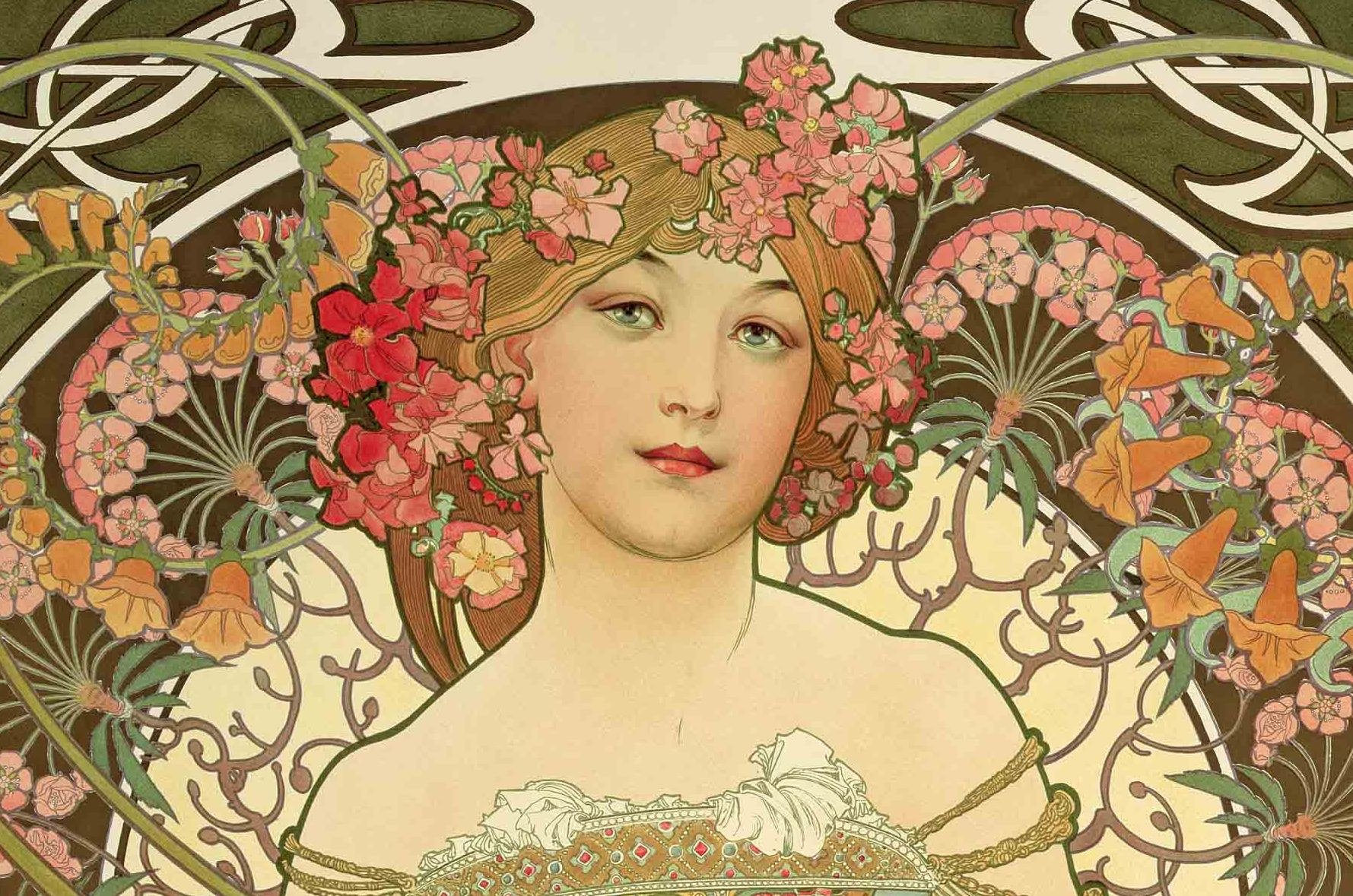 Alphonse Mucha: Inspirations of Art Noveau | Little Village