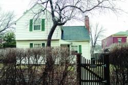 MODEST DWELLING The Englert family's home (324 E. Jefferson), built in 1938
