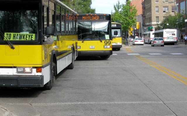 Iowa City Buses