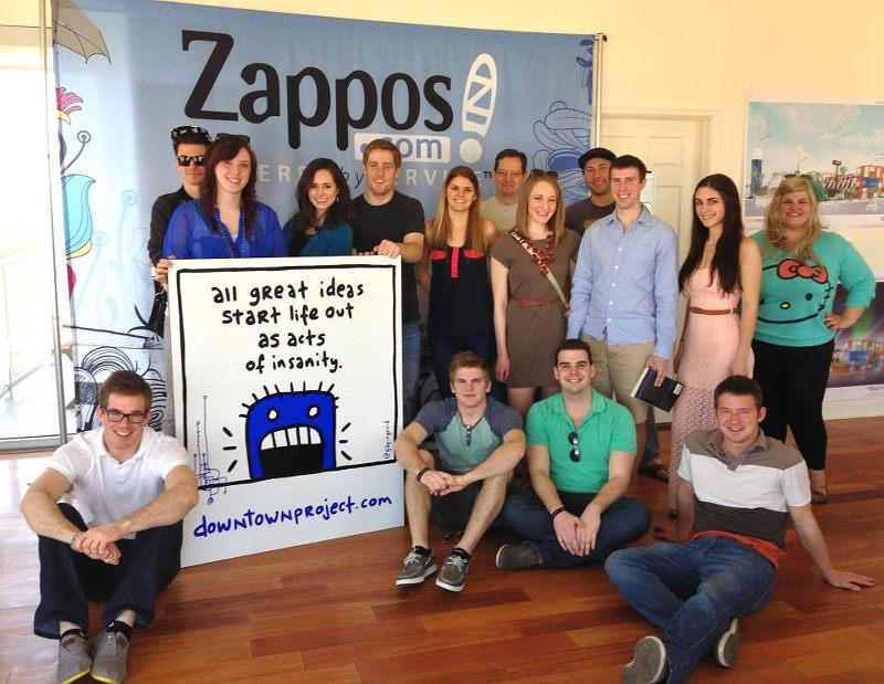 Zappos-bound