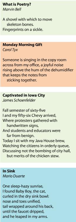 Poetry in Public
