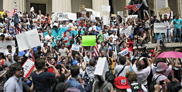 Restore the Fourth rally