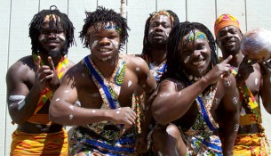 Ghanaian siblings African Showboyz will perform on September 28.