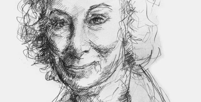 Margaret Atwood -- Illustration by Jacob Yeates