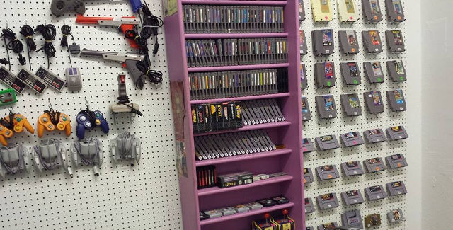 Game Geeks offers a wide selection of rare, retro video game hardware. -- photo courtesy of Game Geeks