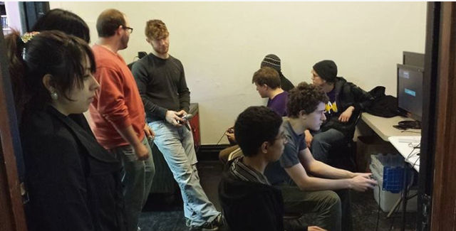 Game Geeks' held its inaugural Super Smash League event (pictured) last month. -- photo via Game Geeks