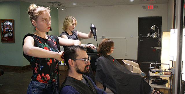 Leah Ostby and Nichole Schappert of HABA Salon