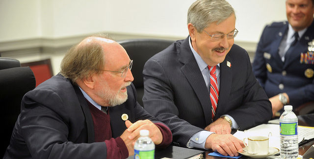 Terry Branstad -- photo by Jim Greenhill