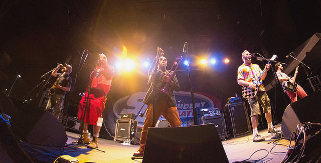 Reel Big Fish -- photo by Chad Cooper