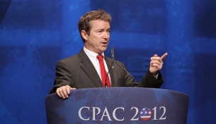 U.S. Sen. Rand Paul speaks at CPAC 2012. -- photo by Mark Taylor