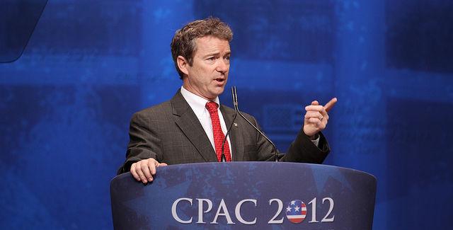 U.S. Sen. Rand Paul speaks at CPAC 2012. -- photo by Mark Taylor