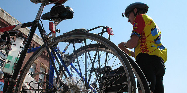 This year, the ride starts and ends at Reds Alehouse in North Liberty. -- photo by Debbie Friedman