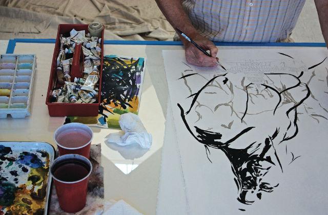 Artist Thomas Jackson