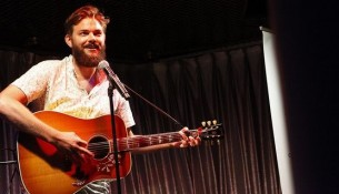 Nick Thune knows how to strike chord with his audience.   Photo courtesy - Seth Olneck