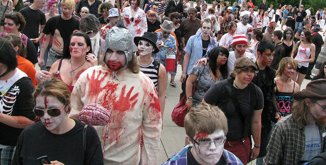 Zombie March!
