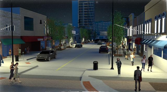Downtown Iowa Avenue -- image courtesy of the City of Iowa City