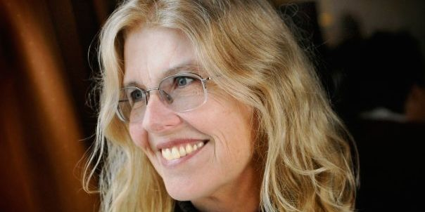 Jane Smiley reads at the 2014 Iowa City Book Festival this Sunday. Photo by Mark Bennington.