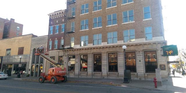 Washington Street renovations