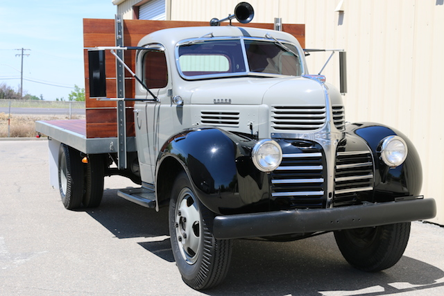 This is the antique truck Grebner purchased for the project.