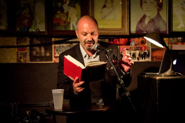 Boris Fishman reads from A Replacement Life at Prairie Lights on Feb 23 -- Photo by Stephanie Kaltsas