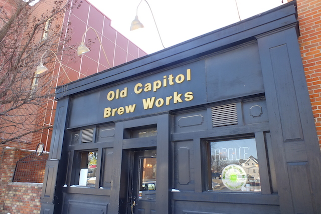 Old Capitol Brew works will reopen as a new bar and restaurant. -- photo by Adam Burke