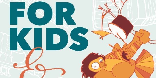 The For Kids and By Kids -- art by Lauren Haldeman