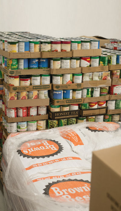 14 percent of Johnson County residents are food insecure -- one of the highest rates in the state of Iowa.