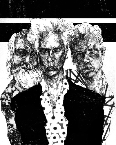 Jarmusch will give two very performances during Mission Cree. --  Illustration by Jacob Yeates
