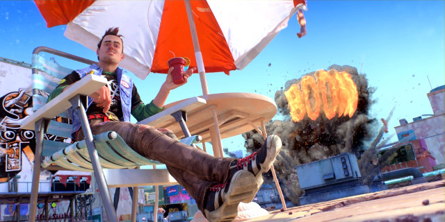 Independent game designer Lisa Brown, who helped in the development Insomniac Games' Sunset Overdrive (pictured) will speak at EPXCON on Sunday, April 26.