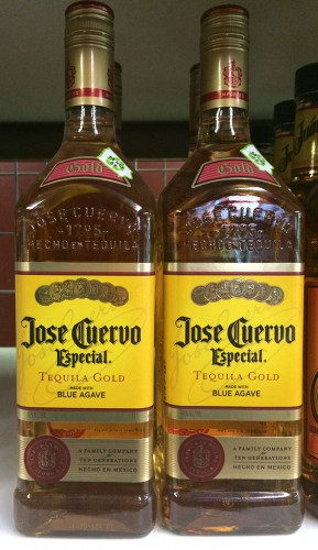 Jose Cuervo Gold is available at most area liquor stores. -- photo by KMC