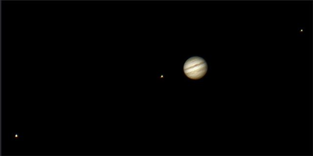 The largest of Jupiter's moons, Ganymede, has a greater diameter than the planet Mercury.  -- photo by Jamie Ball via Flickr Creative Commons
