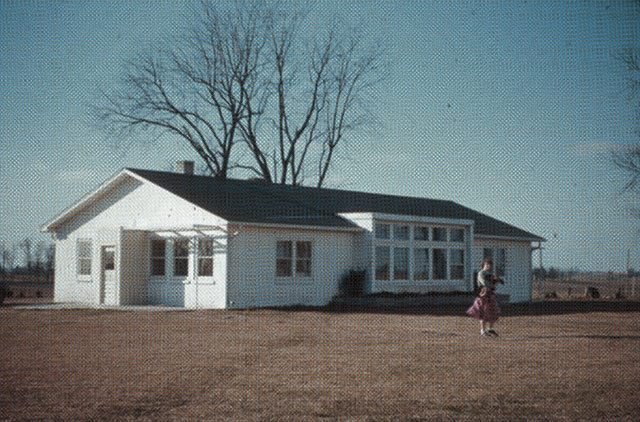 The Instruction Building at Scattergood -- image courtesy of Scattergood Friends School and Farm