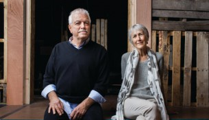 Ron Clark and Jody Hovland