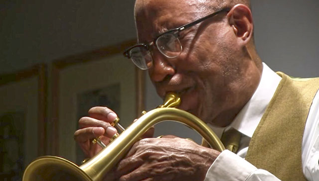 Cornetist Ron Miles will sit in with jazz collaborative trio Whirlpool on Friday at the Iowa City Jazz Festival video still