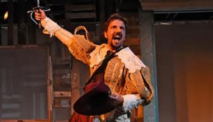 """A great nose many be an index of a great soul"" -- Edmond Rostand, Cyrano de Bergerac --photo provided by the Riverside Theatre"