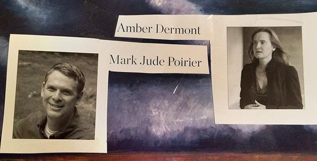 Mark Jude Poirier and Amber Dermont first met at the Writers' Workshop.  -- photo Courtesy of Amy Margolis