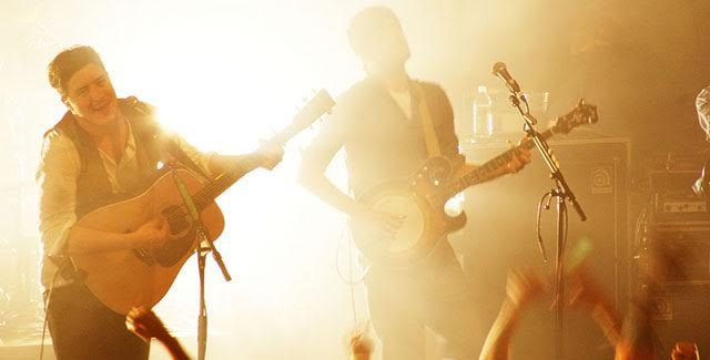 Mumford and Sons take the stage by storm -- photo by BethAnne Ragen via Flickr Creative Commons