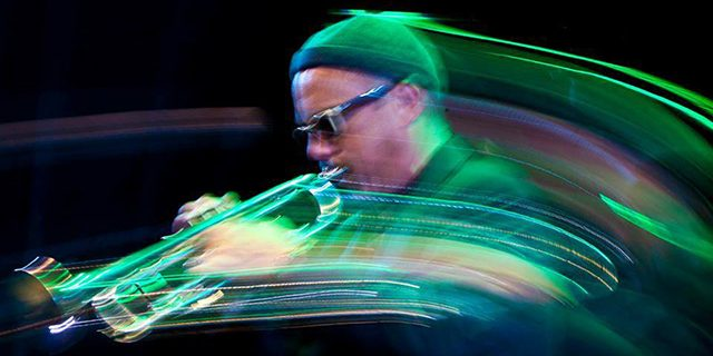 Not your little brother's electronica -- photo provided by Dave Douglas and High Risk