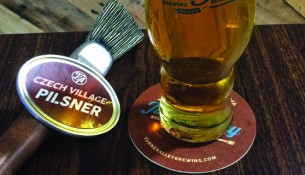 Turner Alley's Czech Village Pilsner is the perfect summer beer --photo by Adam Burke
