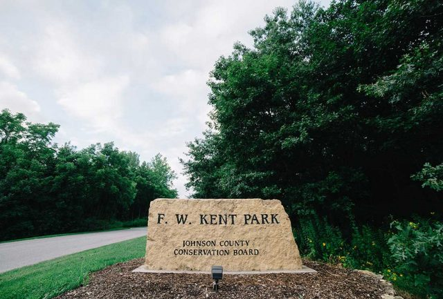 F. W. Kent Park is named for a Johnson County photographer. -- Photo by Britt Fowler