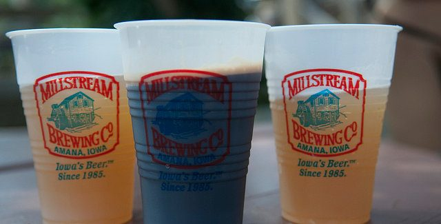 Millstream Brewing Company celebrates 30 years in business this Saturday --photo by Stephen Cummings