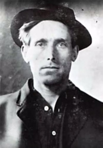 Joe Hill, 1879-1915 --Image via Public Domain