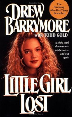 Barrymore's first book was a precocious tell-all, detailing her marijuana use at the age of 10 and experimentation with cocaine at 12 -- image via Goodreads
