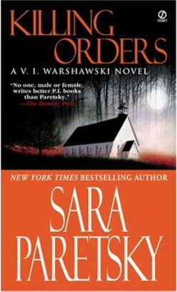 The Warshawski Series' third installment was a 1986 Anthony Award Nominee for Best Novel --image via Goodreads