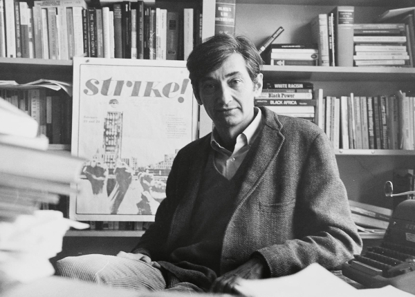 Howard Zinn in his graduate school years -- image via Howard Zinn