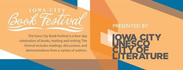 Photo courtesy of Iowa City Book Festival