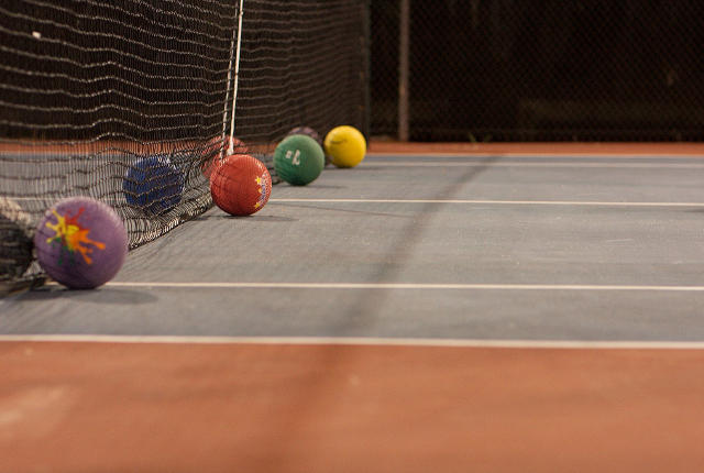 If you can dodge disability discrimination, you can dodge a ball -- photo by Kevin N. Murphy