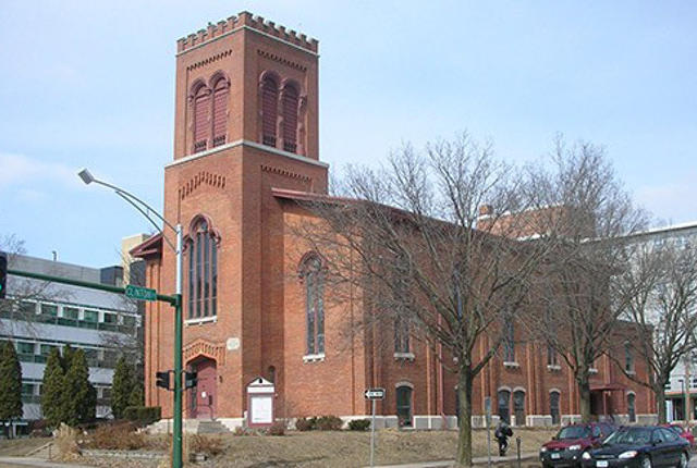 'Old Brick' Presbyterian Church will host one performance of TITle -- photo by Alan Light