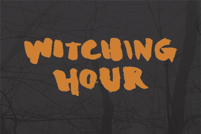 The inaugural Witching Hour festival commences Friday, Nov. 6 -- image by Jordan Sellergren